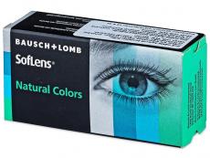 Barevné a Crazy kontaktní čočky - SofLens Natural Colors - dioptrické (2čočky)