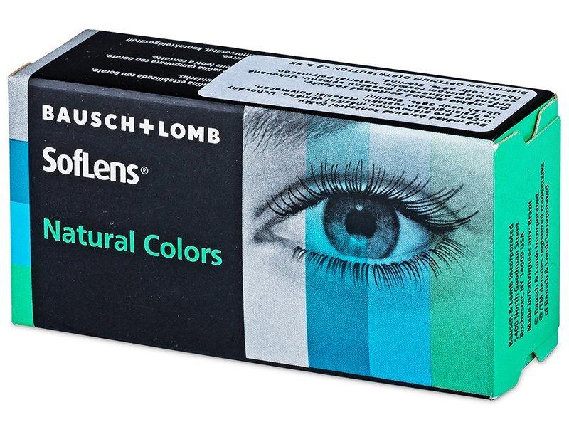 SofLens Natural Colors - nedioptrické (2čočky) - Barevné kontaktní čočky - Bausch and Lomb