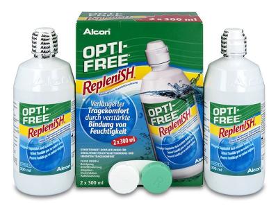 Roztok Opti-Free RepleniSH 2 x 300ml