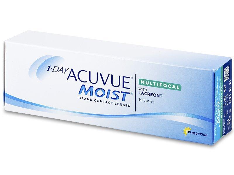 1 Day Acuvue Moist Multifocal (30 čoček) - Torické kontaktní čočky - Johnson and Johnson