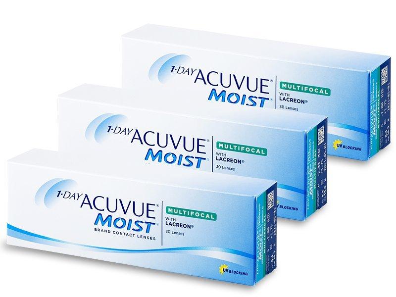 1 Day Acuvue Moist Multifocal (90 čoček) - Multifokální kontaktní čočky - Johnson and Johnson