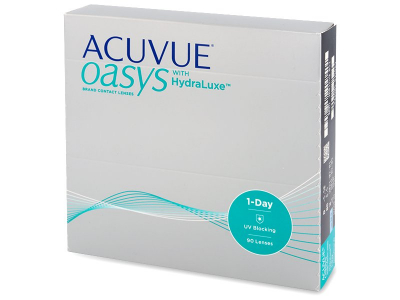 Acuvue Oasys 1-Day with Hydraluxe (90 čoček)