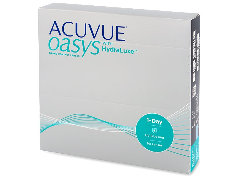 Acuvue Oasys 1-Day with Hydraluxe (90 čoček) - Jednodenní kontaktní čočky - Johnson and Johnson