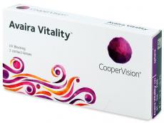 Kontaktní čočky - Avaira Vitality (3 čočky)