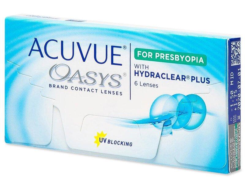 Acuvue Oasys for Presbyopia (6 čoček) - Multifokální kontaktní čočky - Johnson and Johnson