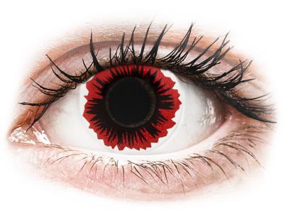 ColourVUE Crazy Lens - Blaze - nedioptrické (2 čočky)