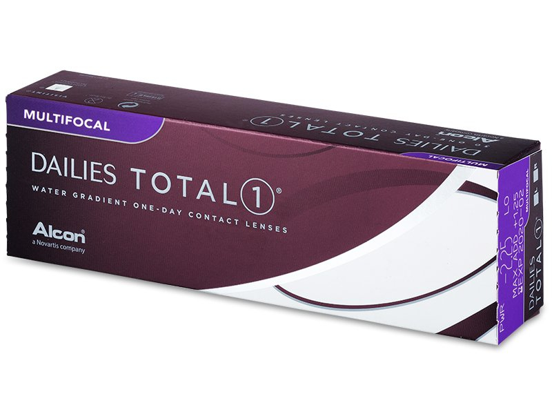 Dailies TOTAL1 Multifocal (30 čoček) - Jednodenní kontaktní čočky - Alcon