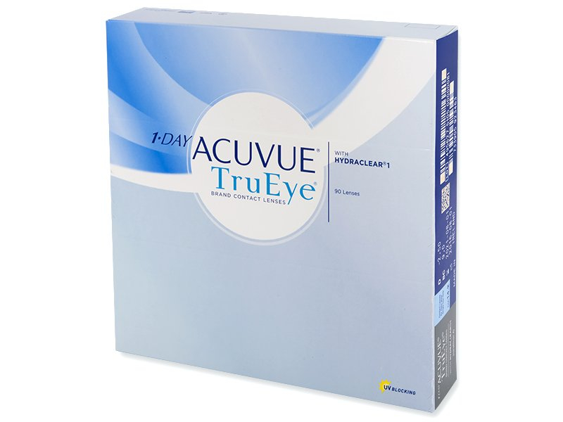 1 Day Acuvue TruEye (90 čoček) - Jednodenní kontaktní čočky - Johnson and Johnson