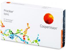 Torické (astigmatické) kontaktní čočky - Proclear Toric (3 čočky)