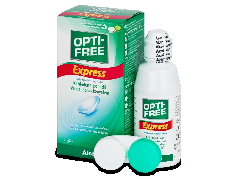 Roztok Opti-Free Express 120ml  - Čistící roztok