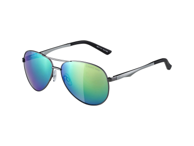 Sluneční brýle Alpina A 107 Gun Matt/Green Mirror