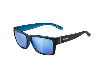 Sluneční brýle Alpina Kacey Black Matt Blue/Blue Mirror