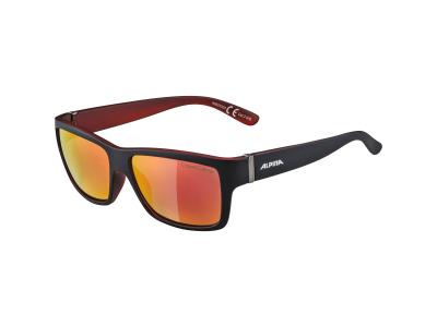 Sluneční brýle Alpina Kacey Black Matt Red/Red Mirror