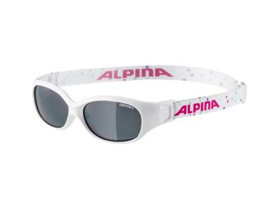 Sluneční brýle Alpina Sports Flexxy Kids White Dots