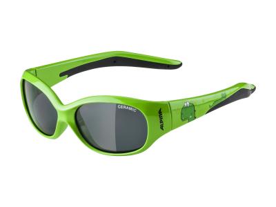 Sluneční brýle Alpina Flexxy Kids Green Dino