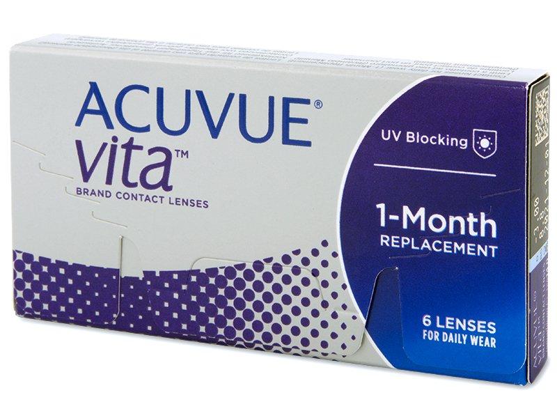 Měsíční kontaktní čočky - Acuvue Vita (6 čoček)