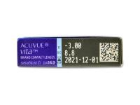 Acuvue Vita (6 čoček) - Náhled parametrů čoček