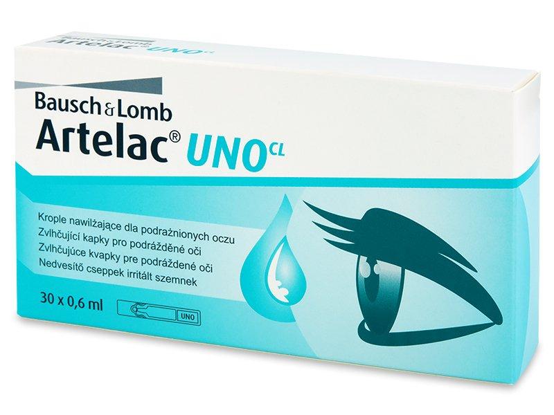 Zvlhčující oční kapky Artelac UNO 30 x 0,6 ml  - Oční kapky - Bausch and Lomb