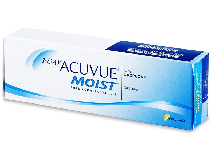 1 Day Acuvue Moist (30 čoček) - Jednodenní kontaktní čočky - Johnson and Johnson