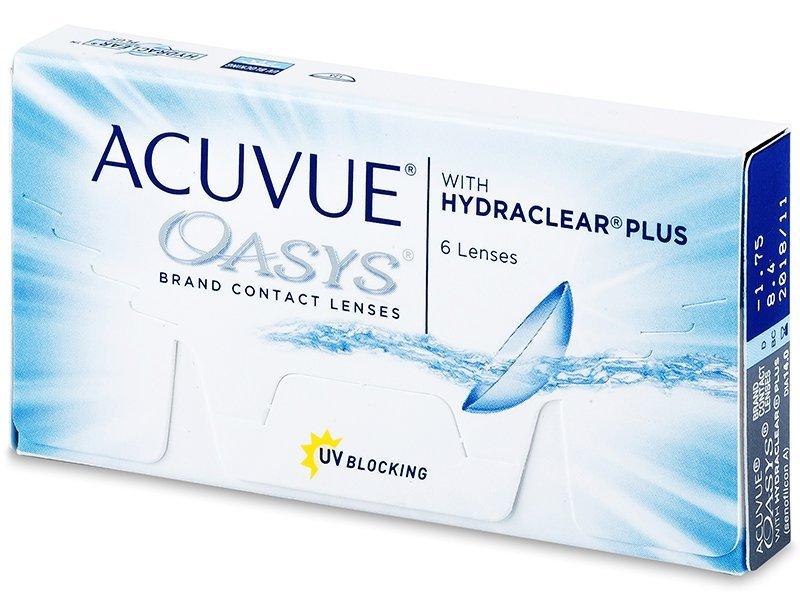 Acuvue Oasys (6čoček) - Čtrnáctidenní kontaktní čočky - Johnson and Johnson