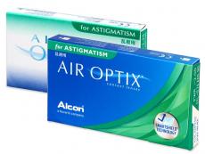 Měsíční kontaktní čočky - Air Optix for Astigmatism (3čočky)