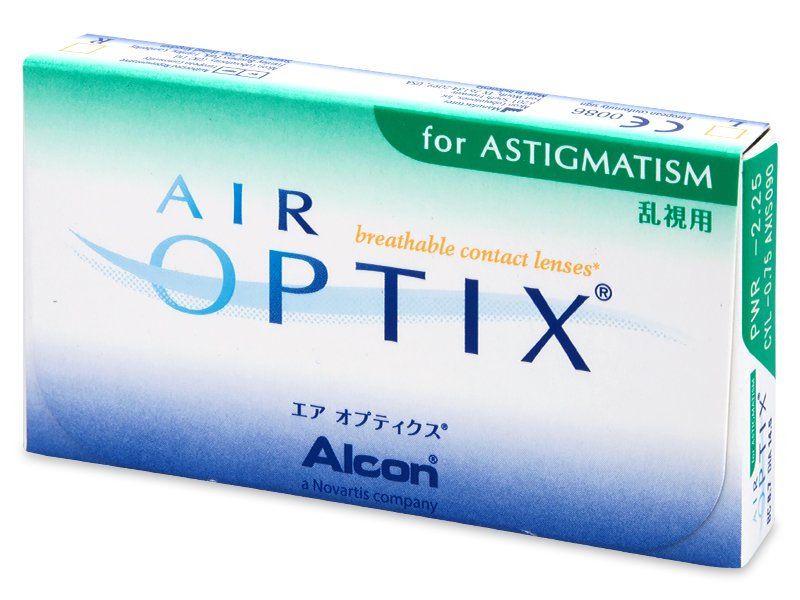 Předchozí design - Air Optix for Astigmatism (3čočky)