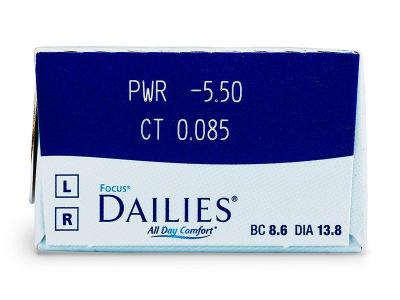 Focus Dailies All Day Comfort (30čoček)