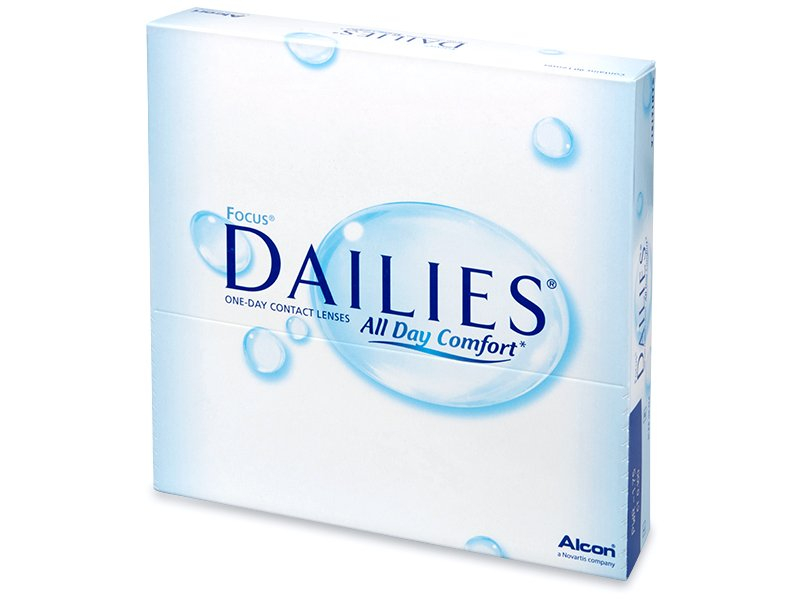 Focus Dailies All Day Comfort (90čoček) - Jednodenní kontaktní čočky - Alcon