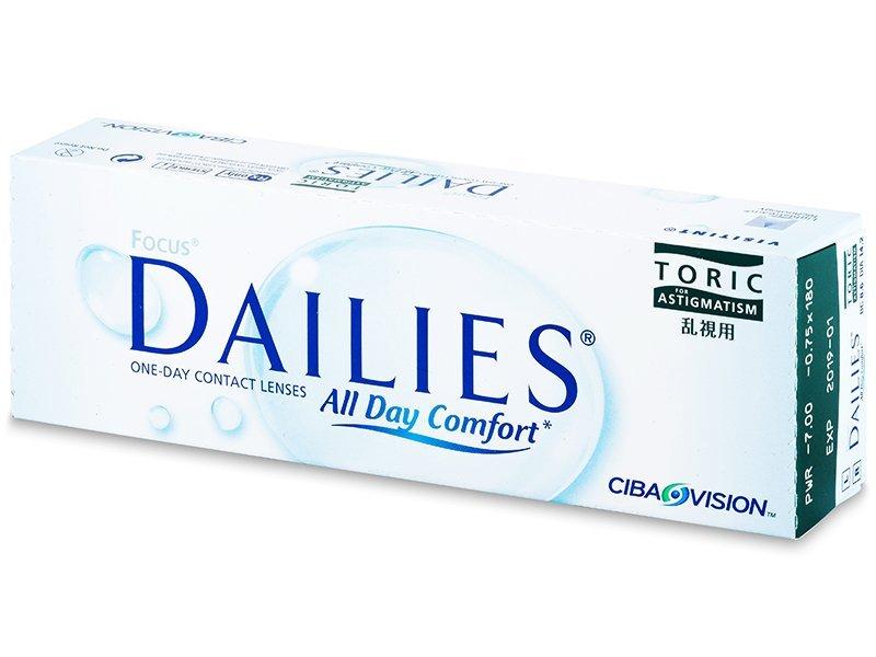 Focus Dailies Toric (30čoček) - Torické kontaktní čočky - Alcon