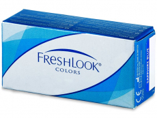 Barevné a Crazy kontaktní čočky - FreshLook Colors - dioptrické (2čočky)