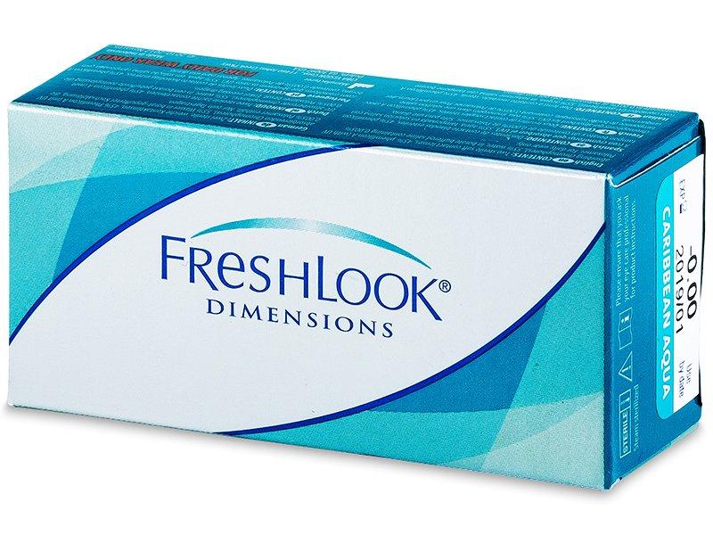 FreshLook Dimensions - nedioptrické (2čočky) - Barevné kontaktní čočky - Alcon