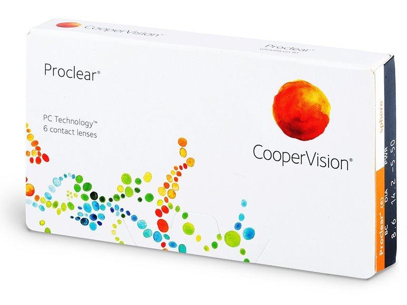 Proclear Compatibles Sphere (6čoček) - Měsíční kontaktní čočky