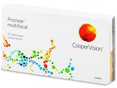 Multifokální kontaktní čočky - Proclear Multifocal (3čočky)