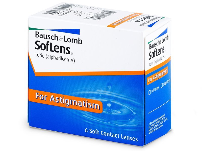 SofLens Toric (6čoček) - Torické kontaktní čočky - Bausch and Lomb