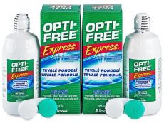 Kontaktní čočky Alcon - Roztok Opti-Free Express 2x355ml