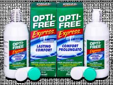 Roztok Opti-Free Express 2x355ml  - Economy duo pack- solution