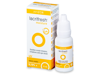 Oční kapky Avizor Lacrifresh Moisture 15ml  - Oční kapky