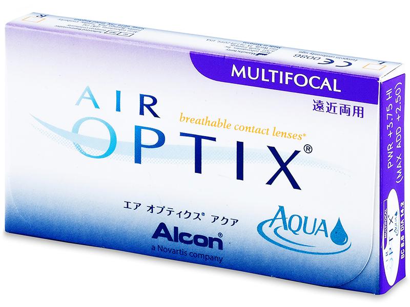 Air Optix Aqua Multifocal (3čočky) - Předchozí design