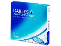 Dailies AquaComfort Plus (90čoček) - Jednodenní kontaktní čočky