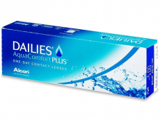 Kontaktní čočky - Dailies AquaComfort Plus (30čoček)