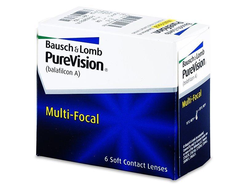 PureVision Multi-Focal (6čoček) - Multifokální kontaktní čočky - Bausch and Lomb