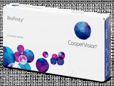 Kontaktní čočky - Biofinity (6čoček)