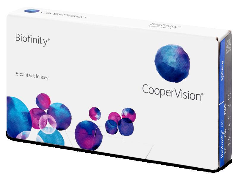Biofinity (6čoček) - Měsíční kontaktní čočky - CooperVision