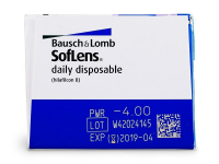 SofLens Daily Disposable (30čoček) - Náhled parametrů čoček