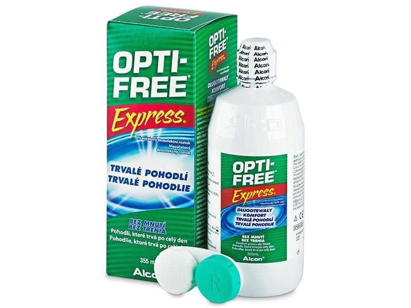 Roztok Opti-Free Express 355 ml  - Čistící roztok - Alcon