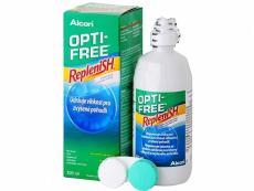 Roztoky na kontaktní čočky - Roztok Opti-Free RepleniSH 300ml