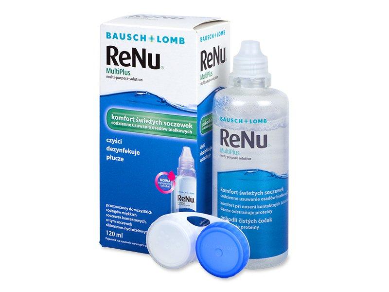Roztok ReNu MultiPlus 120ml  - Čistící roztok - Bausch and Lomb
