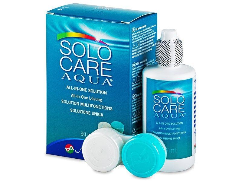 Roztok SoloCare Aqua 90ml  - Čistící roztok - Menicon