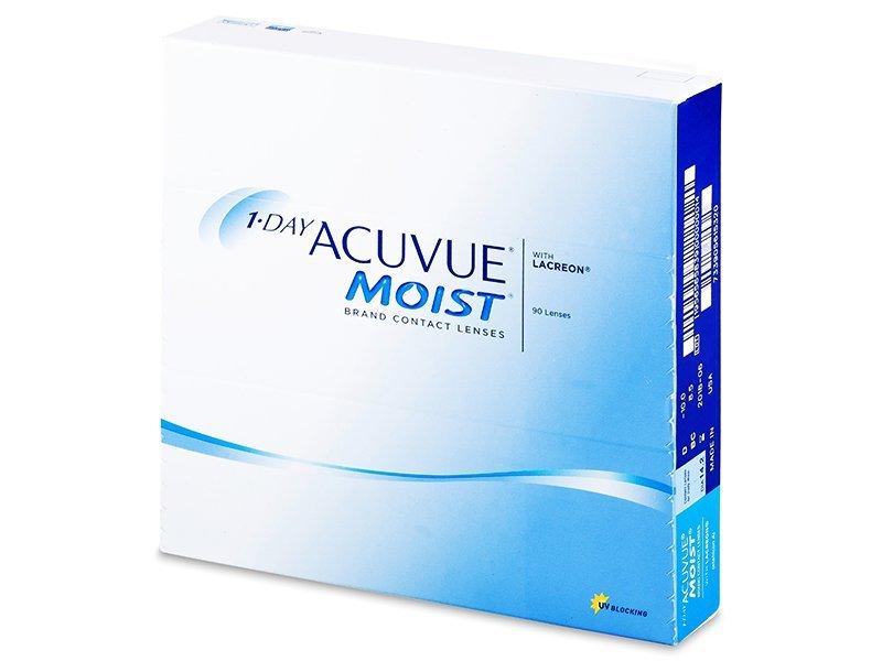 1 Day Acuvue Moist (90čoček) - Jednodenní kontaktní čočky