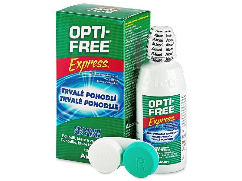 Roztok Opti-Free Express 120ml  - Čistící roztok - Alcon